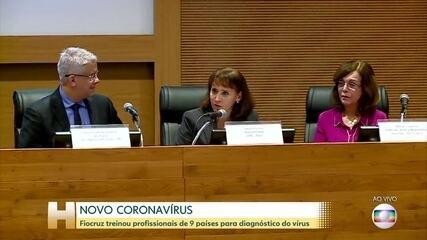 Fiocruz treina profissionais de saúde de nove países para diagnosticar o novo coronavírus