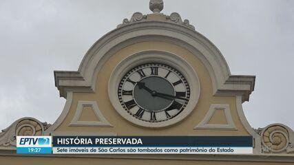 Imóveis de São Carlos são tombados pelo como patrimônio histórico do Estado