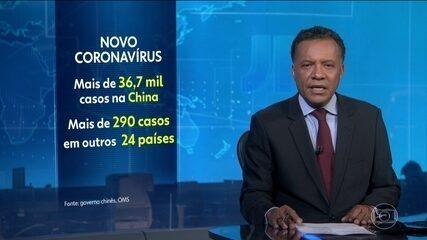 Passa de 36 mil o número de casos confirmados do novo coronavírus na China