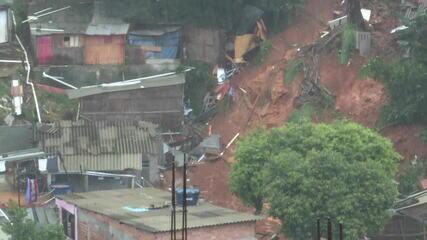 Menino soterrado em deslizamento em Osasco é resgatada com vida