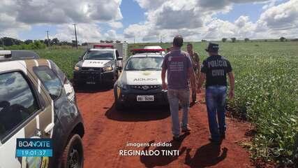Jovem é assassinado em Santa Mariana