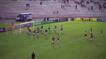 Melhores momentos de Campinense 0 x 0 Atlético-MG, pela Copa do Brasil