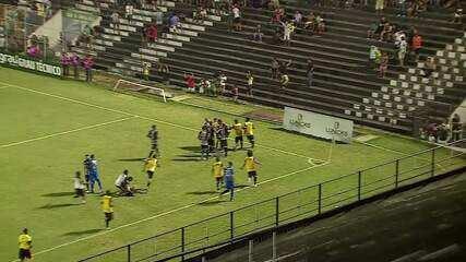 Gol de Central 1 x 0 Vitória-PE