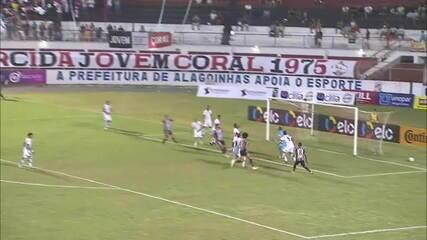 Confira os melhores momentos do empate do Botafogo-PB com o Atlético-BA fora de casa