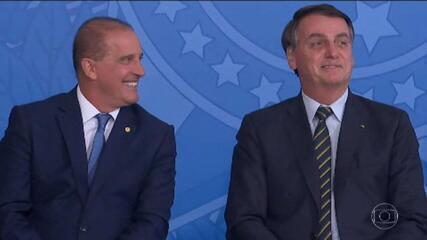 Bolsonaro transfere Onyx para Cidadania e militar assume Casa Civil