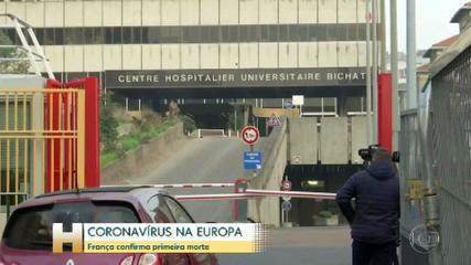 Primeira morte ligada ao coronavírus fora da Ásia é confirmada na França