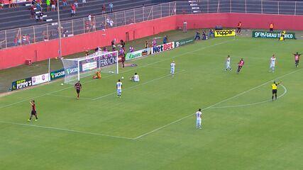 Confira os melhores momentos do 2ºT de Vitória e Atlético de Alagoinhas, pelo Baianão