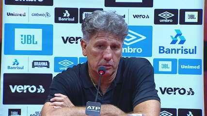 Confira a entrevista coletiva de Renato Portaluppi após vitória no Gre-Nal 423