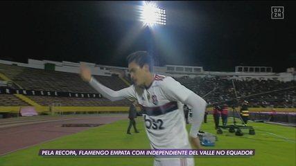 Flamengo empata com o Independiente Del Valle no primeiro jogo da decisão da Recopa Sul-Americana