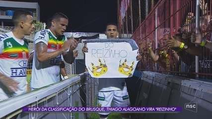 Brusque atropela o Remo e confirma vaga na terceira vaga da Copa do Brasil