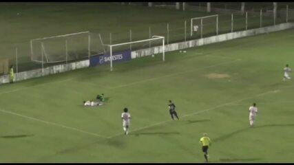 O gol de Real Noroeste 0 x 1 Rio Branco-ES, pelo Campeonato Capixaba 2020