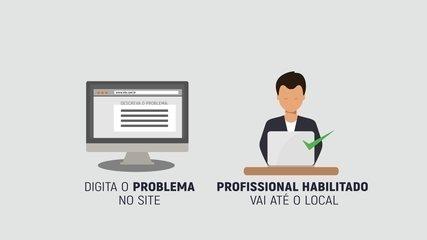 Empresário cria plataforma para o cliente achar o técnico de informática mais próximo