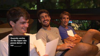Jogo de cartas do tênis no Rio Open tem Orlando Luz como vencedor