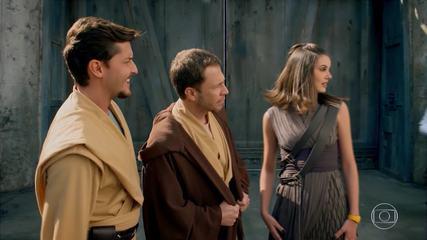 Especial Zero1 Encontro com personagens na Star Wars Galaxy's Edge