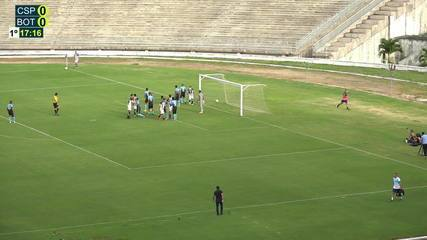 Confira os melhores momentos do empate entre CSP e Botafogo-PB