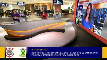 Comentaristas debatem sobre manifestação da torcida do Corinthians e a situação do Tiago Nunes no time