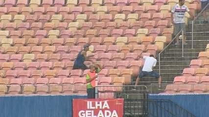 Súmula cita ofensas homofóbicas a goleiro do Fast e briga entre torcidas em semifinal