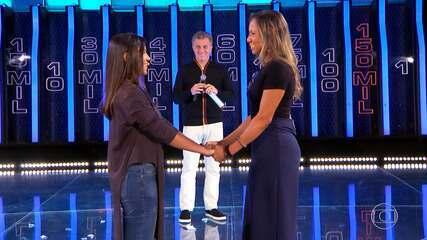 Saiba se Anna Luísa e Vivian levaram o prêmio do 'The Wall'