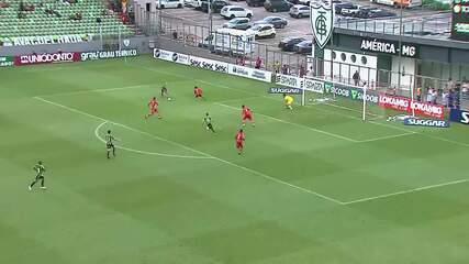 Gols de América-MG 2 x 1 Tombense, pela sétima rodada do Campeonato Mineiro