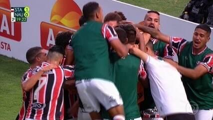 Assista aos melhores momentos de Santa Cruz 2 x 0 Náutico pelo Pernambucano