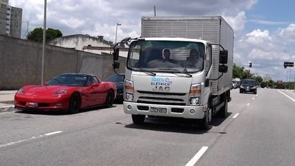 Conheça o Jac iEV 1200T, o primeiro caminhão elétrico à venda no Brasil