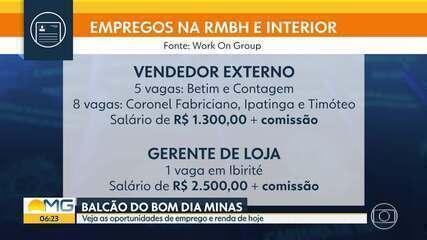Balcão do BDMG: veja as vagas de emprego e estágio em BH e Região Metropolitana
