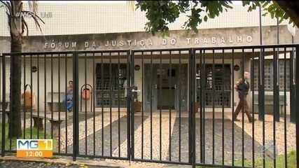 Tribunal de Justiça do Trabalho e acesso à Prefeitura de Patos de Minas estão interditados