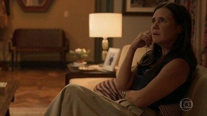 Lurdes confronta Thelma sobre segredo de Danilo