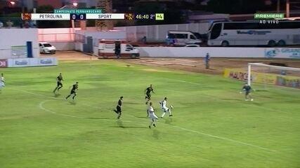 Melhores momentos de Petrolina 0 x 0 Sport, pela 8ª rodada do Pernambucano