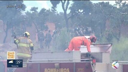 Após homem ser morto pela PM, moradores de ocupação em Uberlândia fecham rodovia