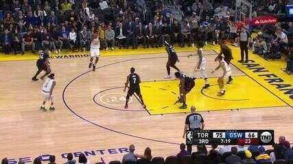 Melhores momentos de Toronto Raptors 121 x 113 Golden State Warriors pela NBA