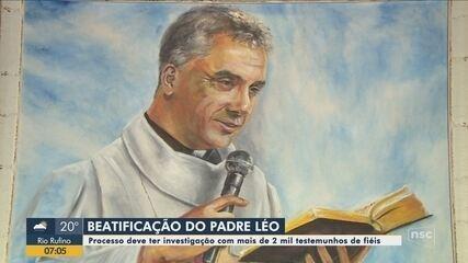Começa processo de beatificação de padre Léo; cerimônia será em São João Batista