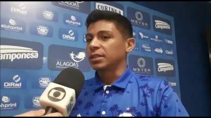Renatinho avalia seu primeiro gol e fala das metas individuais