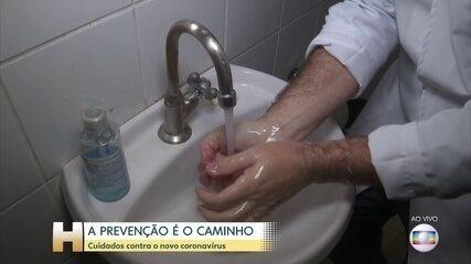 Prevenção é a única vacina contra o novo coronavírus