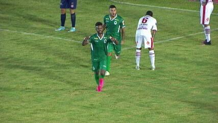 Os gols de Boavista 2 x 1 Bangu pela 2ª rodada da Taça Rio 2020