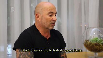 Sampaoli fala pela primeira vez como técnico do Atlético-MG