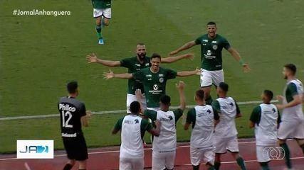 Goiás vence o Iporá e se recupera no Campeonato Goiano