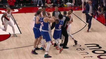 Melhores momentos: Sacramento Kings 123 x 111 Portland Trail Blazers pela NBA