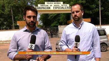 Juíza decreta prisão preventiva de 6 meses para Ronaldinho Gaúcho no Paraguai