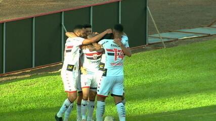 Didi fez o gol da vitória do Pantera sobre o São Paulo