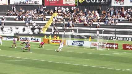 Os gols de Operário-PR 1x1 Toledo, pela 10ª rodada do Campeonato Paranaense