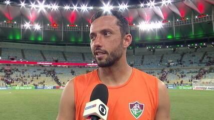 Nenê comemora boa fase e diz que Fluminense está no caminho certo