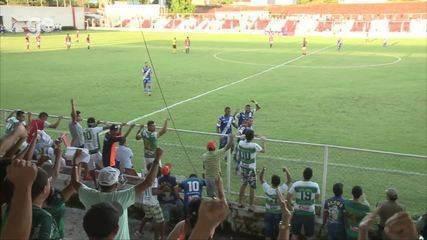 O gol de Altos 1 x 0 River-PI pela quinta rodada do Campeonato Piauiense