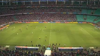 Bahia vence o Confiança e tira a invencibilidade do time sergipano na temporada