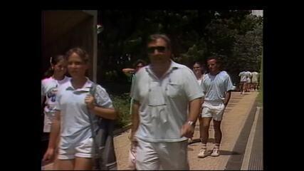 Dadá Vieira é destaque do Banana Bowl em 1989