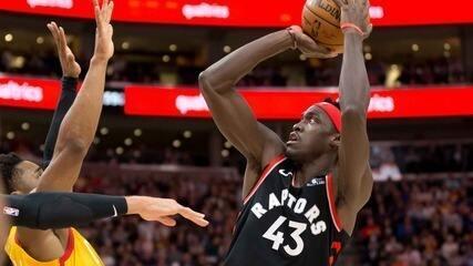 Melhores Momentos: Toronto Raptors 101 x 92 Utah Jazz pela NBA