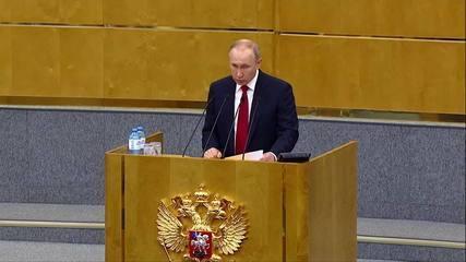 Mudança na Constituição, aprovada pelo Parlamento russo, permite reeleição de Putin