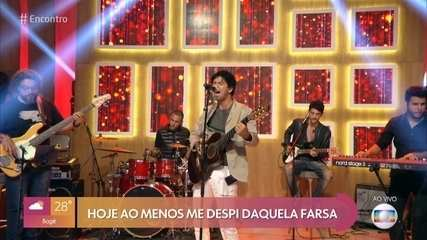 Jorge Vercillo canta 'Personagem'