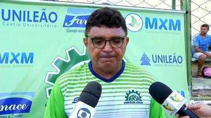 Flávio Araújo foi apresentado como a esperança para tirar o Icasa da Série B Cearense em 2020