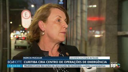 Curitiba cria Centro de Operações de Emergência como prevenção contra o coronavírus